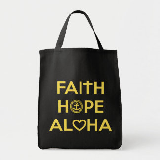 Faith, Hope, Aloha Tote