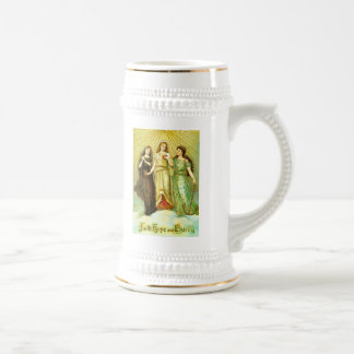 Faith, Hope and Charity Beer Stein