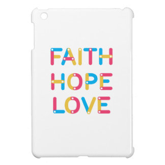 faith hope love 2 iPad mini covers