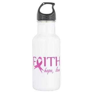 Faith,hope, love 532 ml water bottle