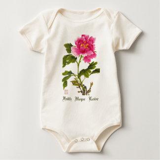 Faith   Hope   Love Baby Bodysuit