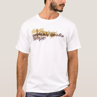 Faith, Hope, Love - Brown - Restoring Austin T-Shirt