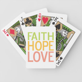 Faith Hope Love Christian Inspirational Cards