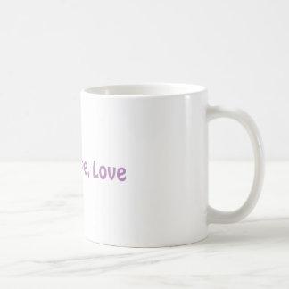 Faith, Hope, Love Coffee Mug