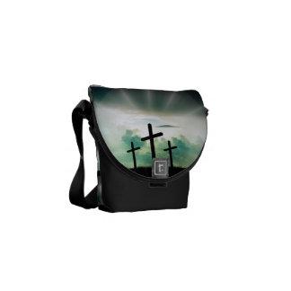 Faith Hope Love Cross Believe Destiny's Destiny Commuter Bags