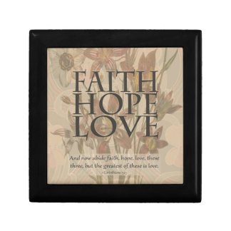 Faith,Hope,Love Gift Box