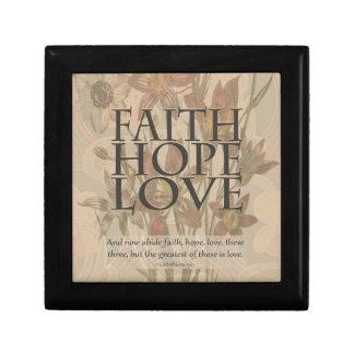 Faith,Hope,Love Jewelry Boxes