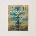 Faith,Hope,Love Jigsaw Puzzle