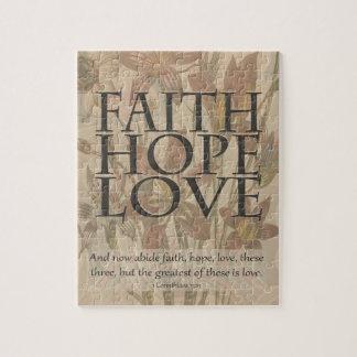 Faith,Hope,Love Jigsaw Puzzle