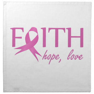 Faith,hope, love napkin