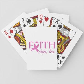 Faith,hope, love playing cards