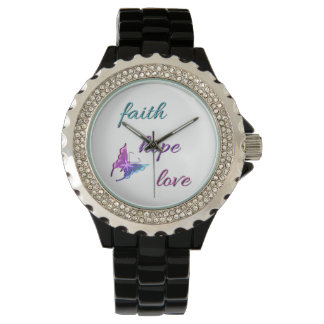 Faith Hope Love Watch