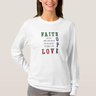 Faith, Hope, Love Women's Hoody