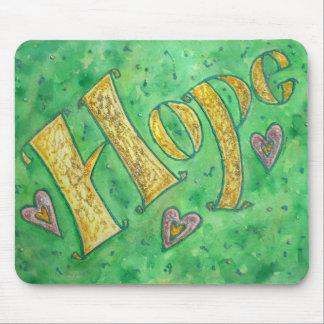 Faith (horizontal) mouse pad
