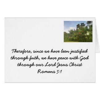 Faith in Jesus Card