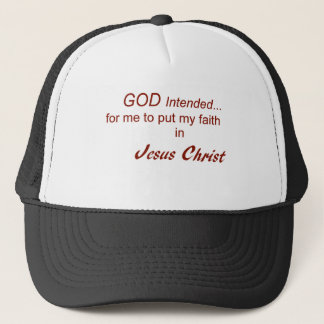 Faith In Jesus Christ Trucker Hat