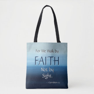FAITH Inspirational Scripture Tote