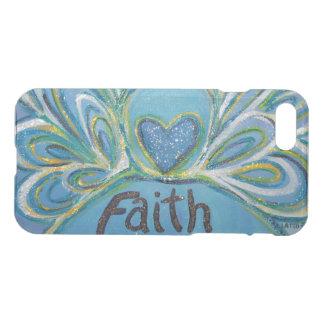Faith Inspirational Word Angel Art iPhone 7 Case