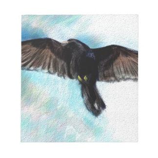 Faith is a raven notepad