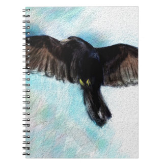 Faith is a raven spiral notebook