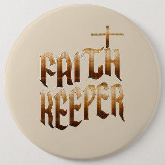 Faith Keeper Button - Keep The Faith