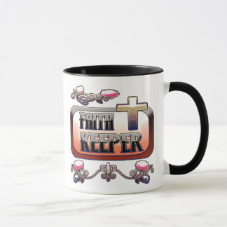 Faith Keeper Christian Combo Mug