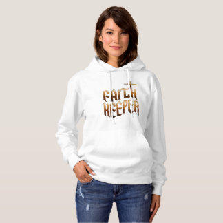Faith Keeper - Christian Women's Hooded Sweatshirt
