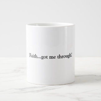 Faith Large Coffee Mug