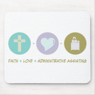 Faith Love Administrative Assisting Mouse Pad