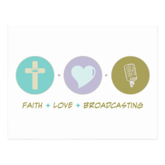 Faith Love Broadcasting Postcard