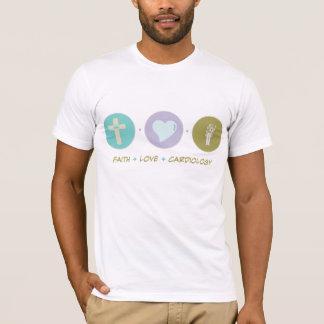 Faith Love Cardiology T-Shirt