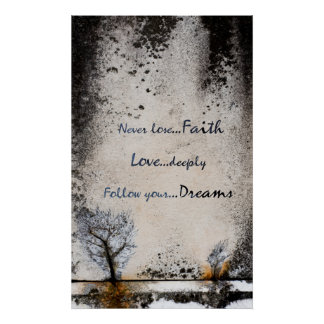 Faith, Love, Dreams Collection - Poster