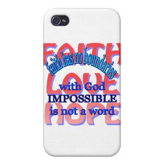 Faith Love Hope Case For iPhone 4