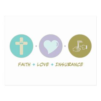 Faith Love Insurance Postcard