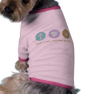 Faith Love Nuclear Medicine Pet T Shirt
