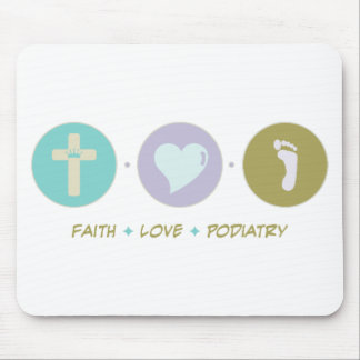 Faith Love Podiatry Mouse Pad