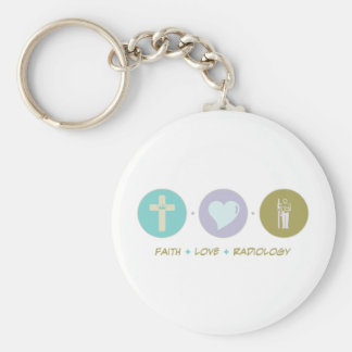 Faith Love Radiology Keychain