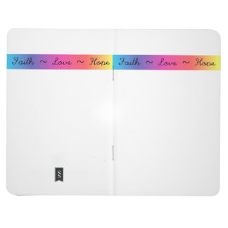 Faith, Love wild duck Hope notebook Journal