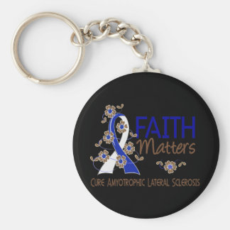 Faith Matters 3 ALS Keychain