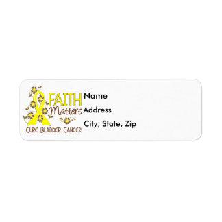Faith Matters 3 Bladder Cancer Return Address Label