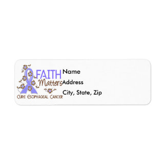 Faith Matters 3 Esophageal Cancer
