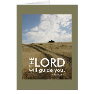 Faith Motivational Guidance Travel Card