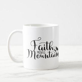 Faith Moves Mountains Coffee Mug