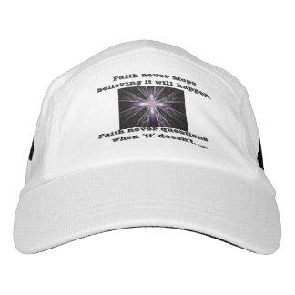 Faith Never Cap w/Feather Cross