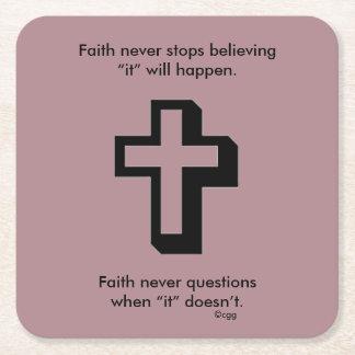 Faith Never Coasters w/Shadow cross