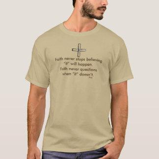 Faith Never Male Short Sleeve Steel Cross T-Shirt