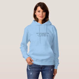 Faith Never Women's Hoodie w/Blue Cross