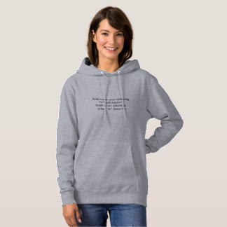 Faith Never Women's Hoodie w/Shadow Cross
