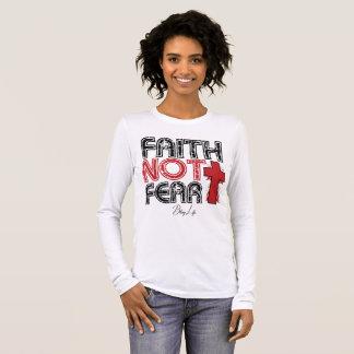 Faith Not Fear Bella+Canvas Long Sleeve Shirt