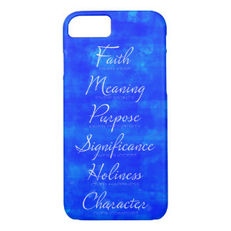 Faith Over Fear and Character over Comfort Case-Mate iPhone Case